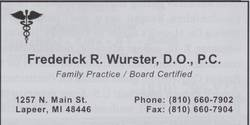 Frederick R. Wurster, D.O.