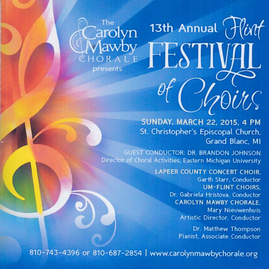 Flint Festival of Choirs - 2015